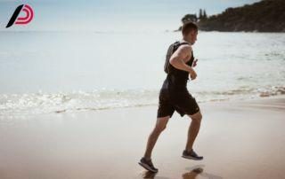 Corsa sulla sabbia